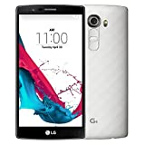 LG G4 H815 5.5-Inch (GSM Only, No CDMA) Factory Unlocked Smartphone (Metallic White) - International Stock (No Warranty)