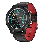 Sprugal Smart Watch | OLED Screen | Blood Pressure | Blood Oxygen Monitor | Heart Rate Monitor IP68 (47 MM, Black)