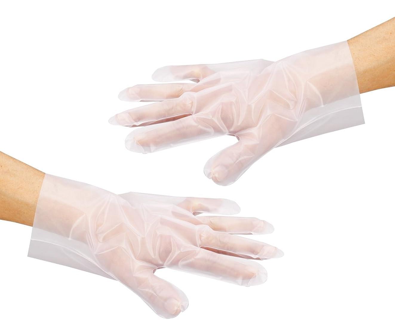 戸棚比率半径アズワン サニメント手袋 PE厚手 エンボス付 L 100入 / 6-896-01