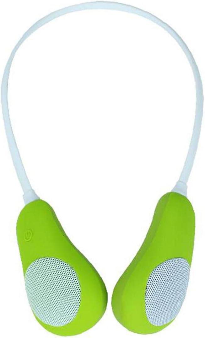 Neckband Wireless Speakers Wearable Surround Max 81% Reservation OFF Sound Sp Sweatproof
