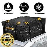 Baúl de techo para coche, 15 pies cúbicos, plegable, 425 L, resistente al agua, suave, caja para más espacio de almacenamiento (95 x 95 x 46 cm)