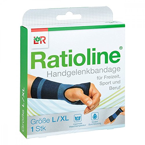 RATIOLINE active Handgelenkbandage Gr.L/XL 1 St