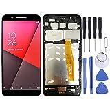 GGAOXINGGAO Pieza de reemplazo de teléfono móvil Pantalla LCD y Montaje Completo de digitalizador con Marco para Vodafone Smart N9 / VFD720 Accesorios telefónicos