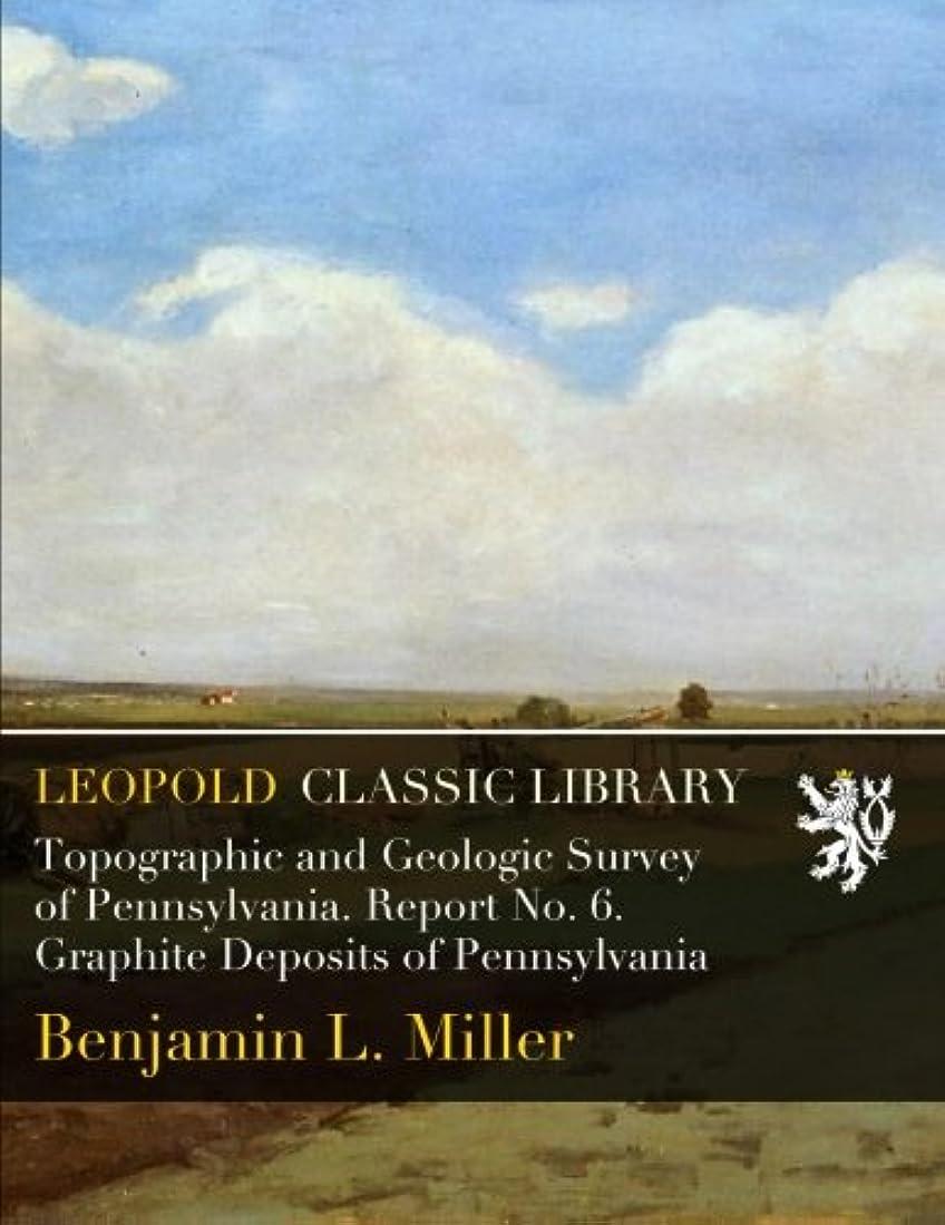 風変わりな嫌がらせ没頭するTopographic and Geologic Survey of Pennsylvania. Report No. 6. Graphite Deposits of Pennsylvania