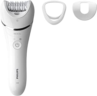 Philips Beauty Philips Epilator Series 8000 With 3 Accessories, 1 count (Pack of 4)