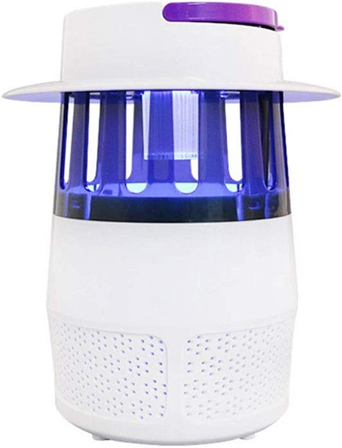 Mosquito Killer Repellent Lamp, Mosquito Trap, USB Powered Insect Trap Lamp, Anti Insect LED UV Light Effective and Intelligent Mosquito Catcher