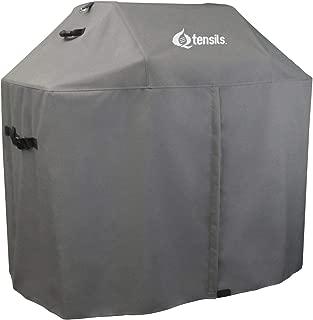 Qtensils Custom Series, Custom Covers for Weber Grills, fits Weber Genesis s-310, Genesis ep-330, Genesis s-330 (WGE-336, Grey)