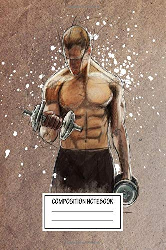 Composition Notebook: Sport Stay Fit Iv Sketch Wide Ruled Note Book, Diary, Planner, Journal for Writing