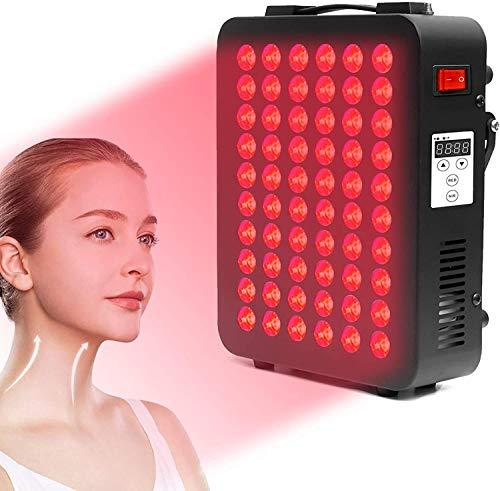 Rotlicht-Therapiegerät, 660 & 850 nm nahe Infrarot-LED-Lichttherapie, klinische Qualität, Lichttherapie Lampe mit Timer für Anti-Aging, Muskel- und Gelenkschmerzlinderung, steigert die Immunität