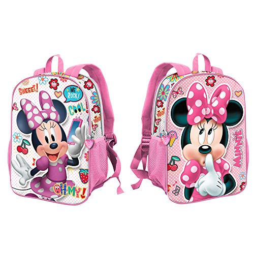 Karactermania Minnie Mouse OhMy!-Sac à dos Dual (Petit) Zainetto per bambini, 32 cm, 9.25 liters, Multicolore (Multicolour)