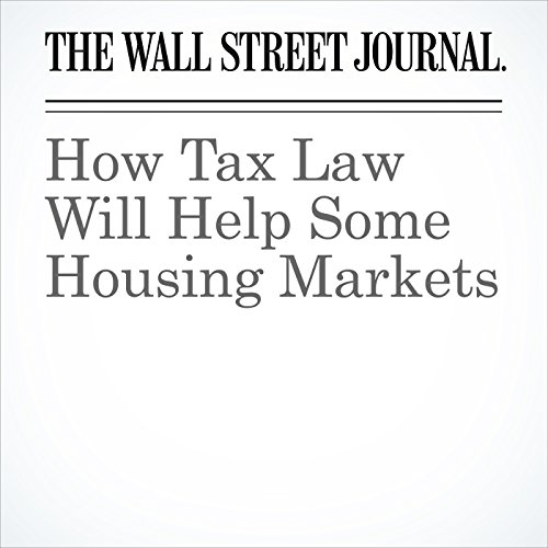 How Tax Law Will Help Some Housing Markets copertina