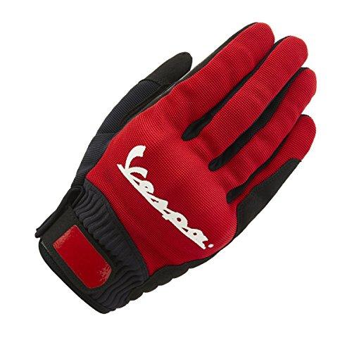Vespa 606759M03VGR Handschuh, Rot, L