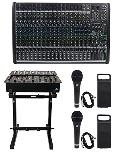 Mackie PROFX22v2 Pro 22 Channel 4 Bus Mixer w Effects and USB PROFX22 V2+Stand