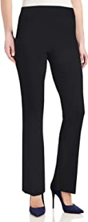 High Waisted Flared Leg Pants for Women Ribbed Knit Pants...