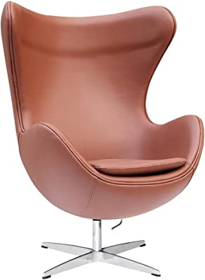 Amazon.com: Arne Jacobsen Egg Chair - Black: Home & Kitchen