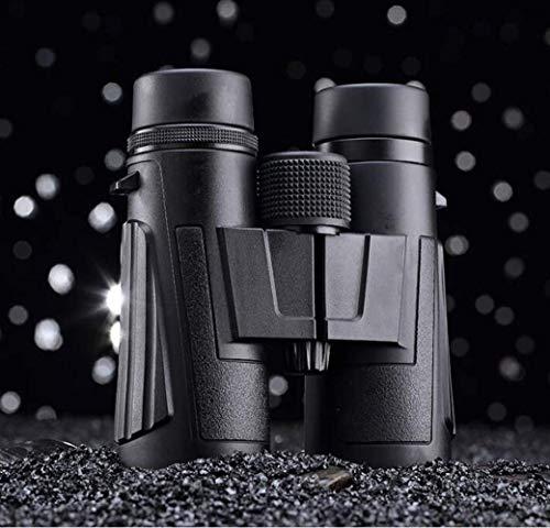 DFJU Jumelles Portables 8   10X25ED pour Enfants Adultes, Jumelles Tout en Verre à Haute Transmittance de la lumière pour la randonnée des Oiseaux Observant Les Sports de Chasse