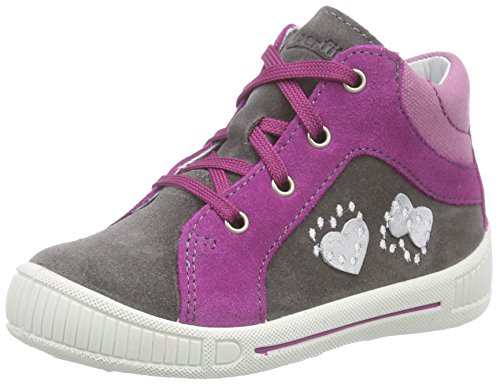 Superfit COOLY 600042 Baby Mädchen Lauflernschuhe Sneaker, Grau (STONE KOMBI 06), 23 EU
