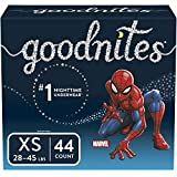 Goodnites Bedwetting Underwear for Boys, XS, 44 Ct, Discreet