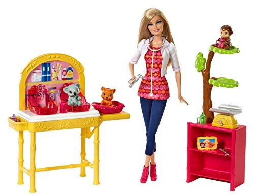 Barbie - Cbl19 - Poupée Mannequin - Vétérinaire