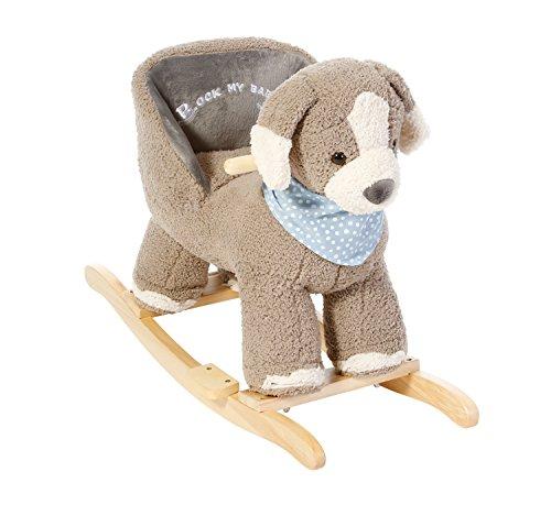 Knorrtoys 40329 - Schaukeltier Hund Wilbu