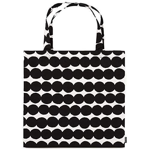 Marimekko - Tasche, RÄSYMATTO Bag - schwarz - Baumwolle - 44 x 43 cm