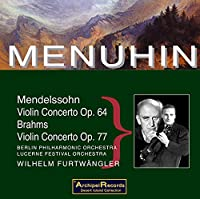 Mendelssohn/Brahms:Violin Cons