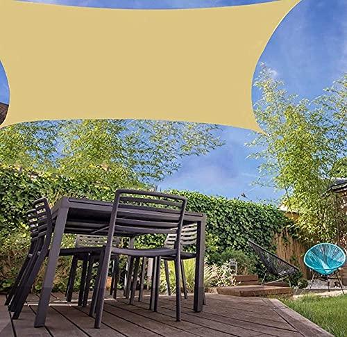 HFKUYK-123 Garden d'Tweing Rectángulo Sun Sun Sun Shade Sai