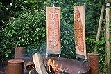 Flammlachs-Brett für Feuerschale 2x
