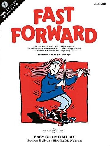 Fast Forward: 21 Stücke. Violine. Ausgabe mit CD.: 21 Pieces (Easy String Music)