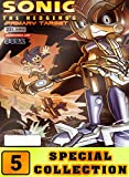 Sonic Hedgehog Special: Collection 5 Comic Cartoon Graphic Novels Adventure Of Sonic For Children (English Edition)