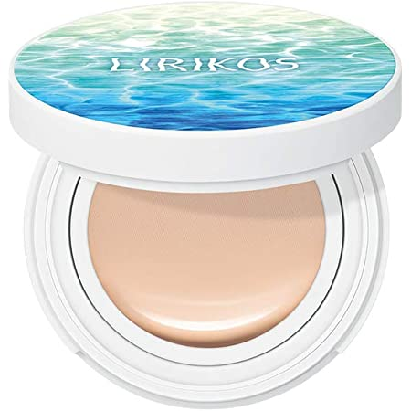 Amazon.com : Lirikos Water Fit Cover Pact SPF50+/PA+++ - Longlasting Cover  Foundation Cushion 10g+10g (21 - Natural Beige) : Beauty
