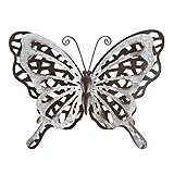 Liffy regalo Metal mariposa decoración de pared color óxido arte escultura
