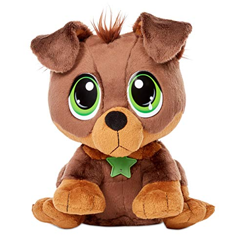 Little Tikes Rescue Tales Adoptable Pet Rottweiler Interactive Plush Pet Toy