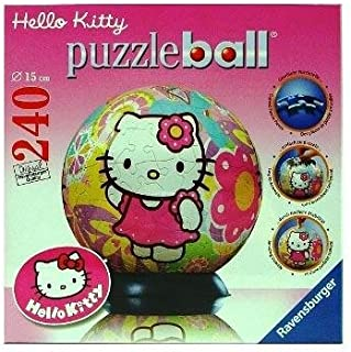 Ravensburger Hello Kitty 11506 Flowerpower puzzleball® - Puzzle esférico (240 Piezas)