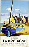 Vintage Poster Retro Bretagne 60x90 cm