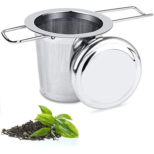 TOCYORIC Colador de té, Acero Inoxidable 304 Filtros para t