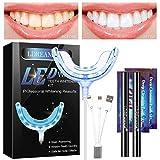 Kit Blanchiment Dentaire,Kit de blanchiment des dents,Home Blanchiment des dents Gel Care avec kit de blanchiment,Réutilisable Kit Dents Soins Dentaires à Domicile