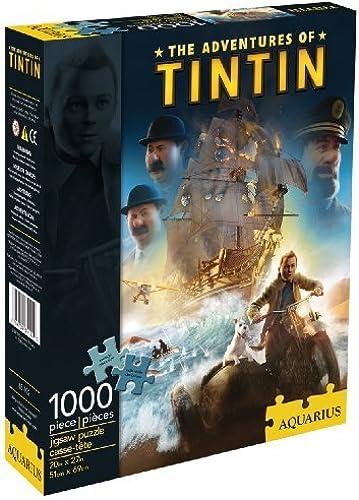 Aquarius The Adventures of Tintin 1000 Piece Jigsaw Puzzle by Aquarius (English Manual)