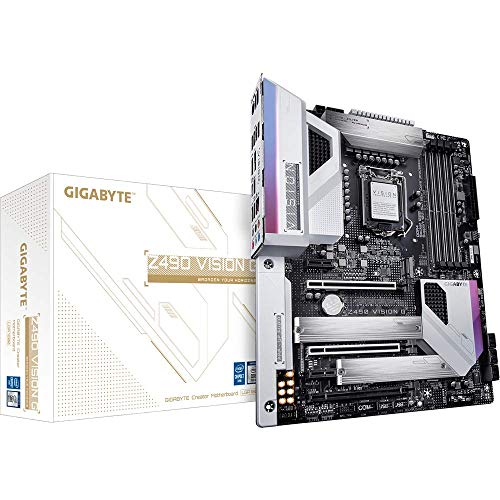 Gigabyte Intel Z490 Vision G ATX Mainboard