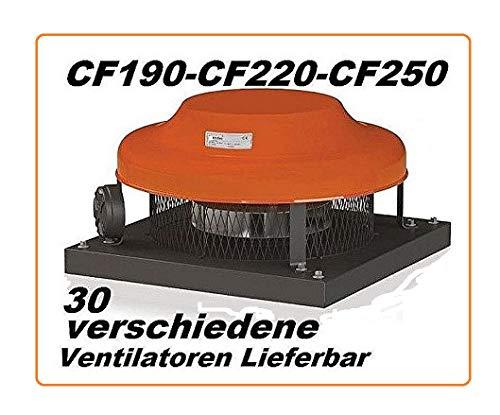 CF190 Dachventilator Dachlüfter Dachgebläse Deckenventilator Deckenlüfter Lüfter Ventilator Gebläse Kaminhaube Pilzlüfter
