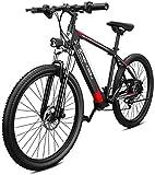 Bicicleta eléctrica Bicicleta eléctrica por la mon 26 pulgadas de montaña bicicleta eléctrica Ebikes 400W 48V extraíble de iones de litio de 27 velocidades E-MTB for Adultos Hombres Mujeres aire libre
