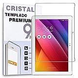 REY Protector de Pantalla para ASUS ZENPAD 10' / 10.1' Z300C - Z330C, Cristal Vidrio Templado Premium