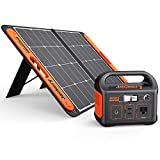 GREEN POWER SUPPLY: The power station can be recharged by the Jackery SolarSaga 60 solar panel. Its built-in MPPT controller enables the solar panel to operate at its max power point for the power station to be recharged at its highest efficiency. TW...