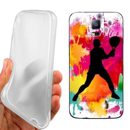 Custodia Cover Case Tennis Maschile per Samsung Galaxy S5 Neo