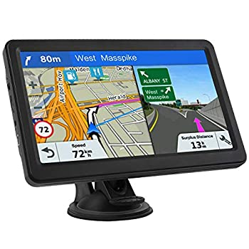 GPS Navigation for Car Lifetime Maps Update Car Navigator GPS Navigation System Voice Broadcast Navigation Free North America Map Updata Contains USA Canada Mexico map