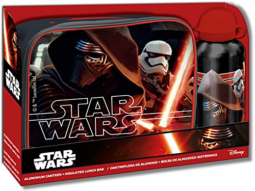 Star Wars- Lunch Bag, cantimplora (Kids Euroswan SWE70236)