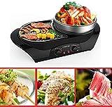 Raclette Grill, BBQ - Der elektrische Thai BBQ Grill und Hot Pot. Tischgrill und Fondue mit Beschichtung