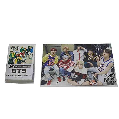 BTS Krop bantan Jungen Mini Foto Cards Set 59Pcs