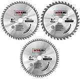 TCT160MXC Saxton TCT Lot de 3 lames de scie circulaire 160 x 20 mm pour Festool TS55 Bosch Makita