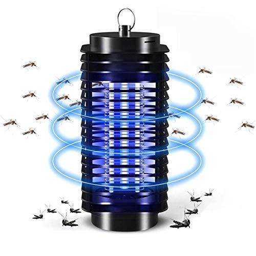 WYGC Lámpara Antimosquitos,Repelente Antimosquitos, Trampa para Insectos Lámpara para Mosquitos, Trampa para Insectos Voladores Emisores De Luz para Interiores Y Exteriores